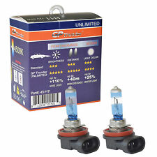 GP Thunder UNLIMITED 4500K H11 55W Bright White Xenon Light Bulbs On Sales