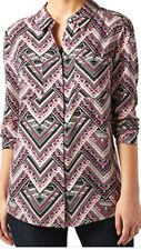Monsoon Ladies Shirt Blouse  New With Tags Size 10 Multi Colour Nice On