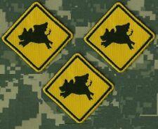 ELITE WARRIORS JSOC SEAL RANGERS SAS JTF2 GOHST RECON hook/loop: Flying Hog X 3