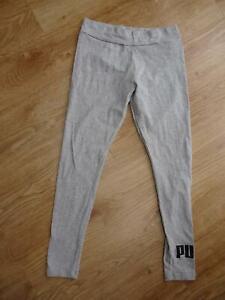 PUMA ladies light grey print leggings UK 14 EXCELLENT CONDITION