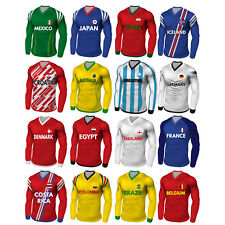 PRECUT World Cup 2018 Football Shirt Party Pack Cupcake Toppers Cake Decorations