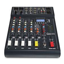 Studiomaster XS 6 6 input mixer USB/SD Card Media Player Recorder & Bluetooth