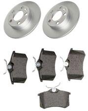 Skoda Fabia I 6Y2 6Y3 6Y5 1.4 1.9 Rear Brake Discs and Pad Set 1999-2007