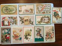 Lillian Vernon Individual Vintage Christmas Postcards from 1982 ,48 Each
