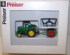 Preiser H0 17929 - Lanz Ackerschlepper mit Ackerwalze - 1:87