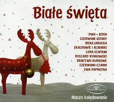 CD Białe Święta / Christmas Carols JAROCKA, 2+1, RYNKOWSKI,  CZERWONE GITARY
