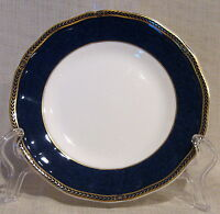 Wedgwood Crown Sapphire Bread Plate