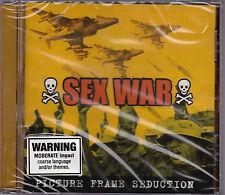 Sex War - Picture Frame Seduction - CD (CJ001 Cult Jam + 9 Live Bonus Tracks)