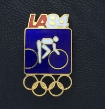 Olympic Pin Badge~Cycling~LA 1984~Los Angeles~5 rings