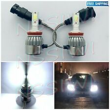 H11 H8 H9 CREE LED Headlights Bulbs Conversion Kit High Low Beam 6000K White 36W