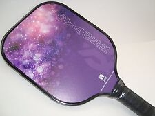 USED ONCE   ONIX VOYAGER PICKLEBALL PADDLE GRAPHITE FACE TOUCH PURPLE