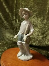 "New ListingCollectible Figurine - Lladro ""Gone Fishing"" 4809"