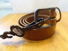 Sz 50 Canyon Outback~Men's Genuine Distressed Wine Leather Belt - NEW w/Tag