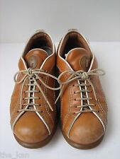 Vtg CAMPER Pelotas Womens LaceUp Flats/Sneakers/Oxford/Bowling Shoes Sz EU37/US7