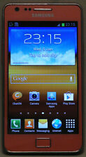 RED SAMSUNG S2 I9100 16GB MOBILE PHONE UNLOCKED TO ALL NETWORKS CHEAP