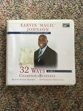32 Ways To Be A Champion In Business by Earvin Magic Johnson Audiobook Unabri