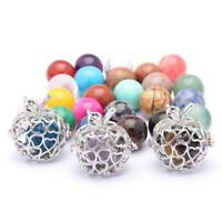 Hollow Fruit Apple Shape Pearl Beads Cage Pendant 20x32mm Fit DIY Jewelry