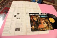 RENATO ZERO LP ORFEO 9 ORIGINALE 1979 MINT MAI SUONATO CON INSERTO !!!  TOOOPPPP