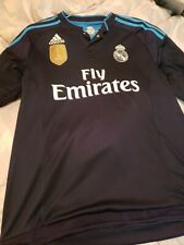 Adidas Real Madrid 15/16 Third Kit Long Sleeve Ls L Large