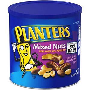 Planters Mixed Nuts with Sea Salt 3 lb 8 oz
