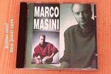 Marco Masini - Perché lo fai Il niente Ti vorrei ... 9 titres - Boitier neuf CD