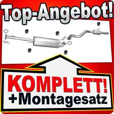 Auspuff TOYOTA LAND CRUISER (J12) 4.0 249PS Auspuffanlage 908