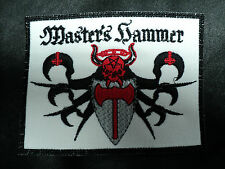 master's hammer  EMBROIDERED  PATCH
