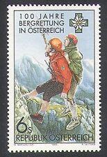 Austria 1996 servizio di Soccorso Alpino/Arrampicata/Sport/montagne/Salvataggio 1 V n37940