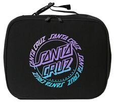 Santa Cruz Ring Dot Fade Lunchbox Black | Purple and Aqua Print Santacruz Lunch