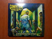 Condition Critical  - Extermination Plan Digipack US Old School Thrash Metal