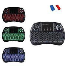 Mini i8 Wireless Keyboard (AZERTY) sans Fil Air Souris Clavier 2.4GHz 3 couleurs