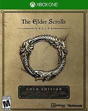 NEW Elder Scrolls Online: Gold Edition (Microsoft Xbox One, 2016)