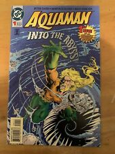 Aquaman #1 Signed by Peter David! Dc Comics Hulk Jla
