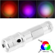 Colorshine Color Changing RGB LED Flashlight 3W RGB Edison LED Light