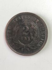 Coin 2 cents 1869 US (Copper)