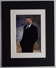 Tom Selleck Signed Autograph 10x8 photo display TV Blue Bloods Hawaii AFTAL COA