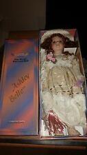 """Vintage Collectible Victorian Ashley Belle Fine Bisque Porcelain Doll 16"""""""