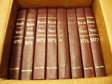 Encyclopedia Britannica Book Of The Year 1970-1977 Events of 1969-1976 (8 Books)
