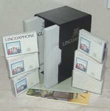 Linguaphone GREEK for the ENGLISH Speaker Cassettes with Books Complete LikeNew