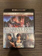 Resident Evil Vendetta (3 Disc, 4K Ultra HD UHD Blu-ray/Blu-ray, No Digital)