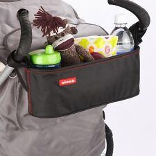 Universal BABY Storage Bag con Cup Holder per Passeggino Carrozzina Passeggino Passeggino