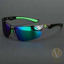 New Men Polarized HD Sunglasses Sport Wrap Around Mirror Driving Eyewear Glasses