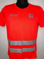 Haas Automation F1 Team Crew Shirt Formula1 Grosjean Magnussen XS Neon