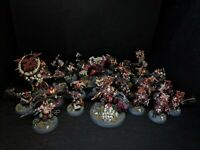ARMY BLADES OF KHORNE  PIANTED - GAMES WORKSHOP , AGE OF SIGMAR