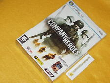 Cofanetto 2 giochi : COMPANY OF HEROES + WARHAMMER 40.000 DAWN OF WAR  NUOVI SIG