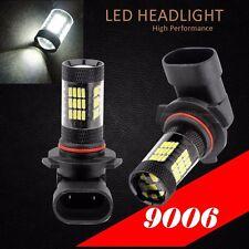 9006 HB4 Samsung LED 57 SMD Super White 6000K Headlight Light Bulbs Low Beam