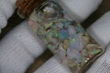 50.0 CTS NICE NATURAL AUSTRALIAN ROUGH OPAL COOBER PEDY CHIPS COLLECTABLE B7