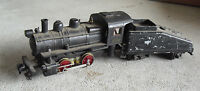 Vintage 1960s HO Scale Plastic Diecast 3100 Steam Locomotive and Tender