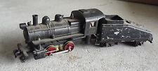 Vintage 1960s HO Scale Plastic Diecast 3100 Steam Locomotive and Tender