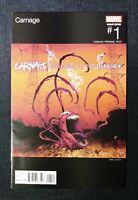 CARNAGE (2015) #1 ARIEL OLIVETTI HIP-HOP VARIANT COVER VF 1ST PRINTING REDMAN